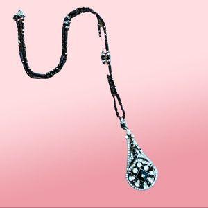 """Art Deco style pendant necklace 18"""""""